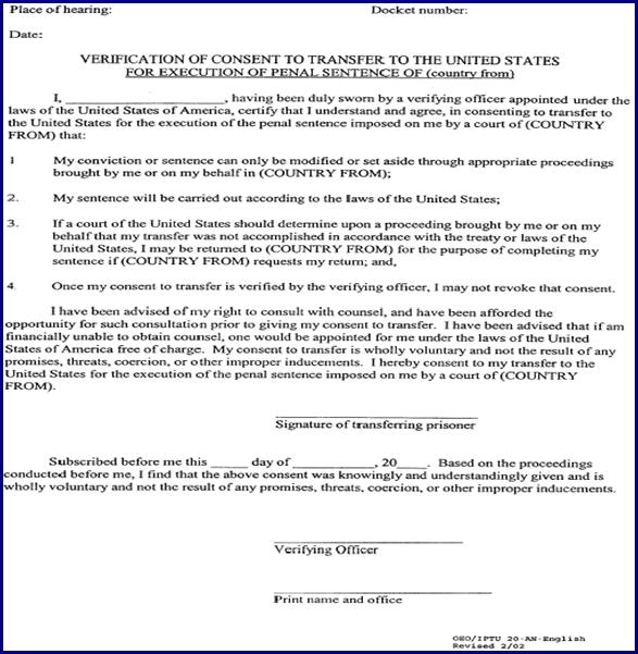 7 FAM 480 INTERNATIONAL PRISONER TRANSFER PROGRAM